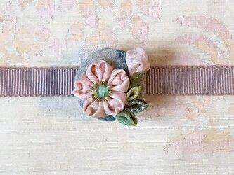 山桜の帯留の画像