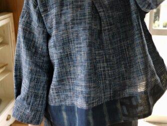 久留米絣トップスの画像