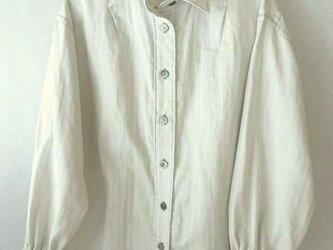 木綿のダブルガーゼのシャツの画像