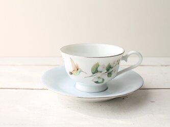 フラワーカップ&ソーサーの画像