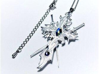 【Sword Crossネックレス】 刀&十字架 / ペアやプレゼントとしてもおしゃれの画像