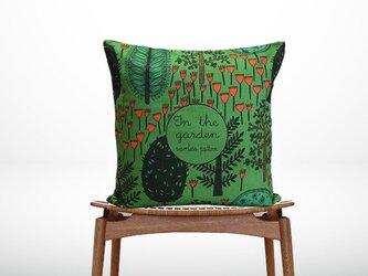 森のクッション The Garden Type A -ヒノキの香り-の画像