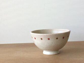 茶碗 さくらんぼ 赤の画像