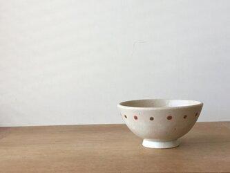 小茶碗 さくらんぼ 赤の画像