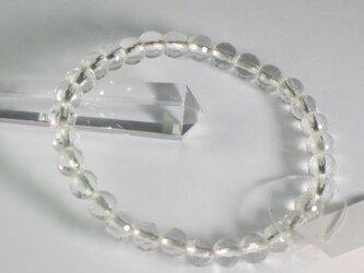 水晶128面切子ブレスレットSUMMERの画像