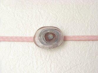 ガラスの帯留め(obi-4)の画像