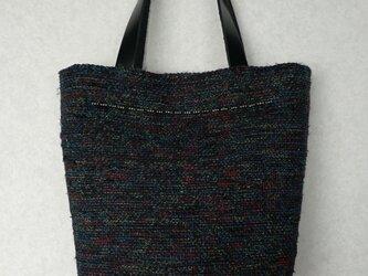 裂き織りバッグの画像