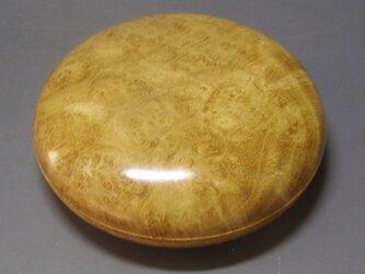 アカシア瘤杢ガラスコート仕上げ  ミニ食籠 香盒にもの画像