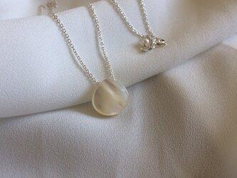 Silver925 マロンシェルスルーネックレスの画像