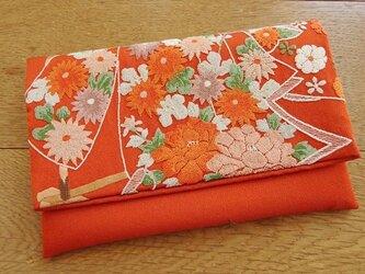 相良刺繍を楽しむ御懐紙入れ(弐)の画像