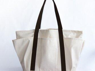 受注生産・ポケットたくさんのマザーズバッグの画像