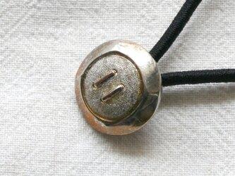 フランスアンティーク・ボタンへアゴム/ボタン模様(AFB-048)の画像
