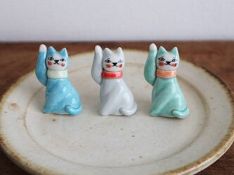 フランスの招き猫の画像