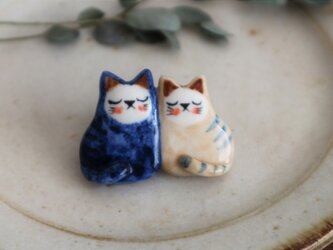 ネコのブローチ 1の画像