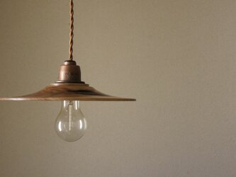 胡桃 ランプシェードの画像