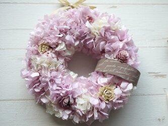 あじさい&ユーカリリース(love pink)の画像