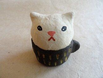 ふてくされネコ in カップ(A)の画像