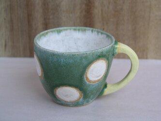 マグカップ (白ドット)の画像
