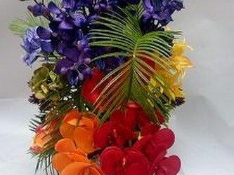 美しいアーティフィシャルアレンジ 「ラナイ」の画像