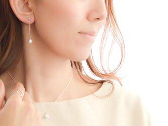 Swarovski Crystal Ball Pierces/Earringsの画像