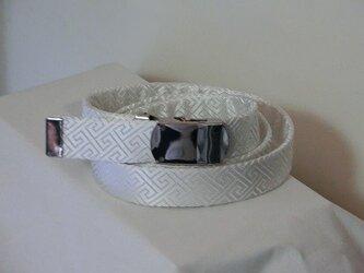 桐谷さんの気持ちいいスタイル爽快なシンプルベルト姫菊beltの画像