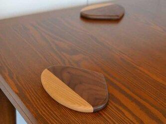 栗のスイーツ皿の画像