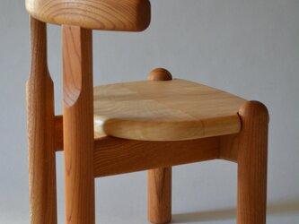 子供椅子■NAGY 09-OKO.A■ W282xD275xH355(SH220)の画像