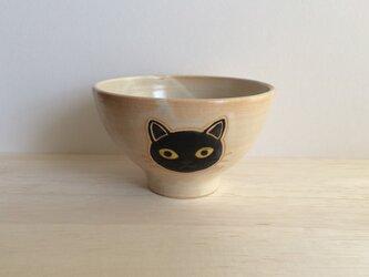 ネコの茶碗Aの画像
