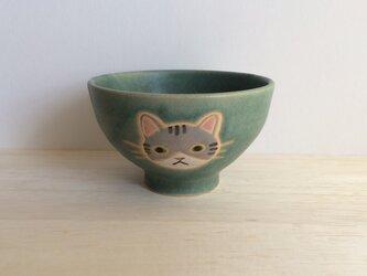 ネコの茶碗Bの画像