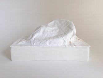 LEDキャンドルライト/Paper Stone Light medium (white)の画像
