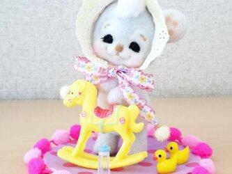 メルヘン♡レトロな赤ちゃんクマさんの画像