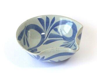 鉢(扇面 唐草紋)の画像