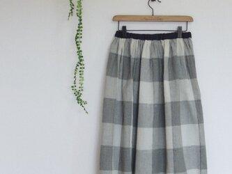 cottonのギャザースカートの画像