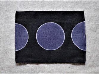 カフェマット 菫色の月の画像