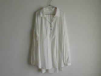 クリオネオーバーシャツ/cotton100%の画像