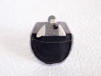 ポケット in オヨヨちゃんブローチ(コズミックハート)の画像