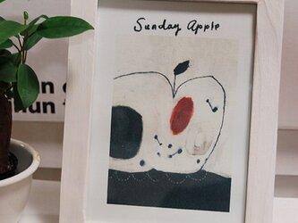 ミニアート フレーム付 「Sunday Apple」の画像