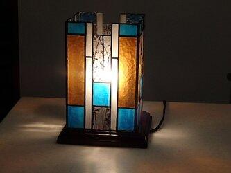 ステンドグラス アクセントランプ 「雅」の画像