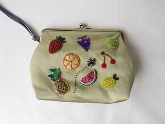 【Sarah様専用】(Dear Sarah)Fruit clutch bagの画像