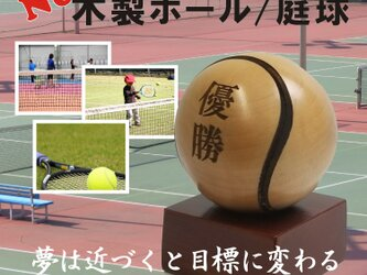 木製ボール/テニスの画像