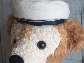 ダッフィー帽子 セーラーベレーの画像