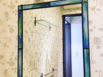 洗面所の鏡 (yumi saiki)の画像