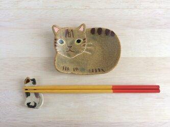 ネコ小皿Cの画像