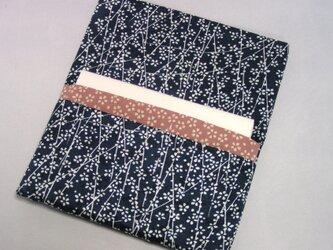正絹と木綿 (壱) 懐紙入れ 通帳入れ 櫻花尽くしの画像