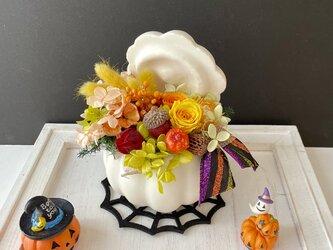 Autumn Pumpkin arrangeの画像