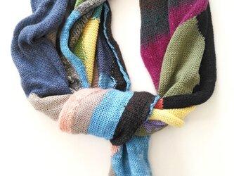 SALE!!半額!!アールガイル編みのマフラーの画像