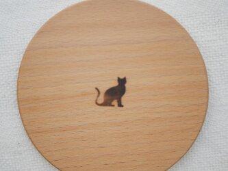 手鏡 black catの画像