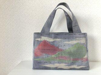 帯バッグ〜山〜の画像