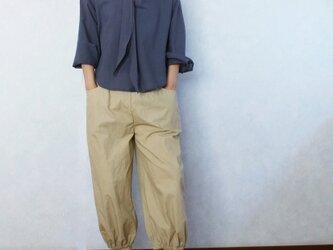 〈受注生産〉バルーンなパンツ(ベージュ)の画像