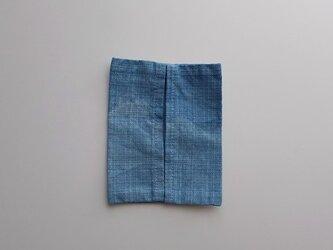 草木染め ティッシュケース インド藍染めの画像